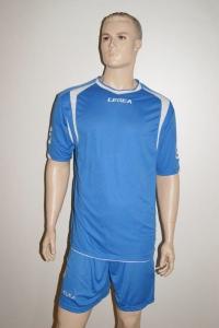 Legea-Trikot-Set - LIVERPOOL - Fußball Trikot u. Hose royalblau / weiß (Größe: XL)