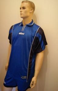 14 Fußball-Trikot-Sets - PREMIER -von ROYAL  royal /blau (Größe: 14 x XL)
