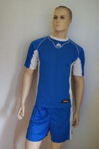 Fuß/Handball-Trikot-Sets - FEBO von ZEUS azurblau  / weiß L (Größe: 1   x L)