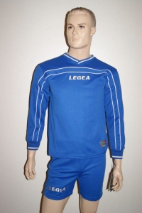 Legea-Trikot-Set - Siria azurblau - Fußball Trikot u. Hose  Gr. S (Größe: S)