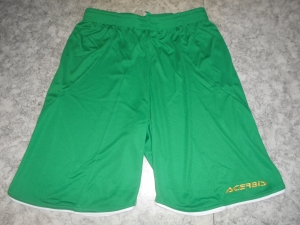 kurze Fußballhose MIRA v. ACERBIS,  grün (Größe: L)
