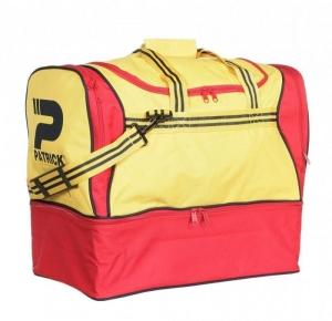 Sporttasche / Fußballtasche TOLEDO-005 gelb/rot mit separatem Schuhfach