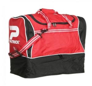 Sporttasche / Fußballtasche TOLEDO-005 schwarz/rot mit separatem Schuhfach