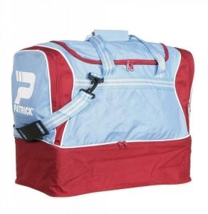 Sporttasche / Fußballtasche TOLEDO-005 sky/burgund mit separatem Schuhfach