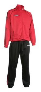 Trainingsanzug Girona 401 rot / schwarz (Größe: L)