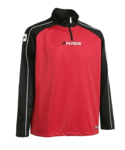 Trainingspullover Granada 101 schwarz / rot (Größe: 2XS)