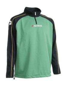 Trainingspullover Granada 101 navyblau / grün (Größe: 3XL)