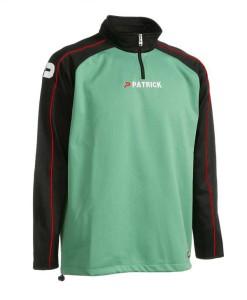Trainingspullover Granada 101 schwarz / grün (Größe: 2XL)