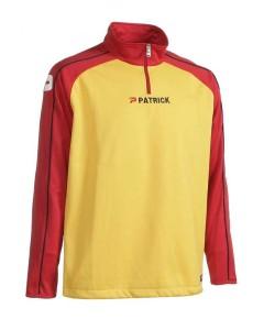 Trainingspullover Granada 101 rot/gelb (Größe: 3XL)