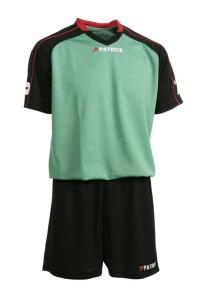 Trikotset Granada 301 schwarz / grün (Größe: Kurzarm    XL)