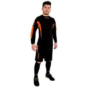 Torwart-Set  Wembley schwarz / orange (Größe: XL)