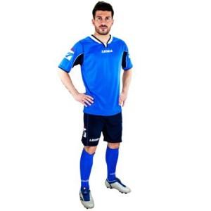 Legea-Trikot-Set - Vento royal - Fußball Trikot u. Hose (Größe: L)