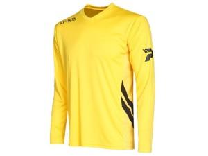 Fussball-Langarm-Trikot - Sprox 105 - gelb (Größe - Langarm-Fußballtrikot Sprox 105 gelb: 2XL)