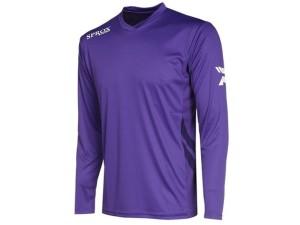 Fussball-Langarm-Trikot - Sprox 105 - lila (Größe - Langarm-Fußballtrikot Sprox 105 lila: 3XS)