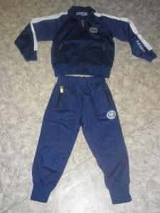 Kinder-Trainingsanzug blau PIECE v.LEGEA (Größe: 3 XS)