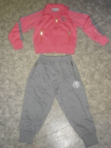 Kinder-Trainingsanzug rosa PIECE v.LEGEA (Größe: 5 XS)