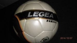 LEGEA Fußball HELL Gr.5 (Fußball: 1 Ball)