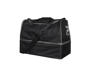 Sporttasche / Fußballtasche  PAT040  schwarz, Schuhfach