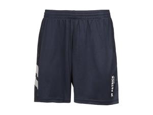 kurze Fußballhose PAT 201 - navyblau (Größe: XS)