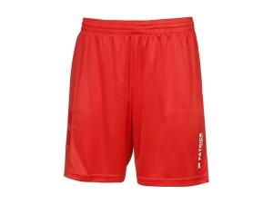 kurze Fußballhose PAT 201 - rot (Größe: 3XS)