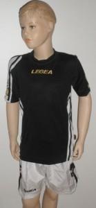 Legea-Trikot-Sets - Colonia  schwarz / weiß (Größe: XL           - fällt kleiner aus = L)