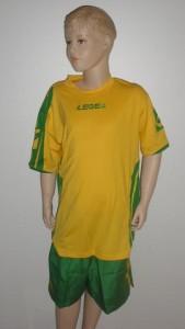 Legea-Trikot-Sets - Colonia  gelb/grün, M=S (Größe: M -fällt kleiner aus = S)