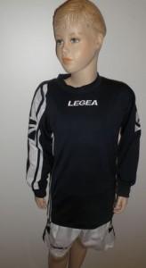 14 x Legea-Trikot-Sets - Amburgo  schwarz/weiß (Größe: 14 x S   -  fällt kleiner aus =   XS)
