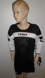 14 x Legea-Trikot-Sets - Oviedo  schwarz / weiß (Größe: 14 x S)