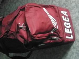 Sporttasche  Vento weinrot  von LEGEA (Farbe: weinrot)