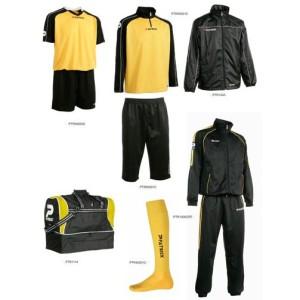 Fußballset -Set  Silverkit  9-teilig -gelb (Größe: L)