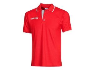 Poloshirt  SPROX 140 v. Patrick ,  rot (Größe: XL)