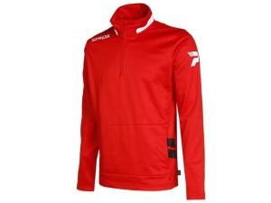 Trainingssweater SPROX 115  v.PATRICK rot / weiß / schwarz (Größe: L)