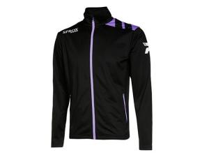Trainingsjacke   Präsentationsjacke - Sprox 110 - schwarz / lila (Größen Trainingsjacke  - Sprox 110 - schwarz / lila: XS)