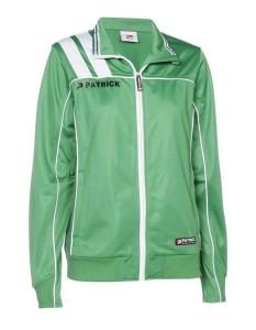 Frauen-Trainingsjacke VICTORA 125  grün / weiß (Größe: XL)