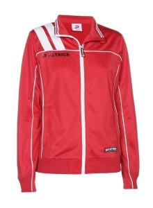 Frauen-Trainingsjacke VICTORA 125  rot / weiß (Größe: 3XS)