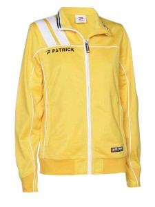 Frauen-Trainingsjacke VICTORA 125  gelb / weiß (Größe: 3XS)