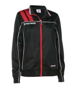 Frauen-Trainingsjacke VICTORA 125 schwarz / rot (Größe: XL)