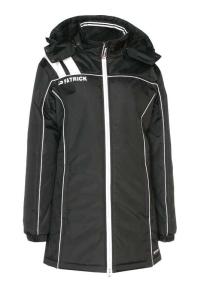 Frauen-Mantel VICTORA 135  schwarz  / weiß (Größe: XS)