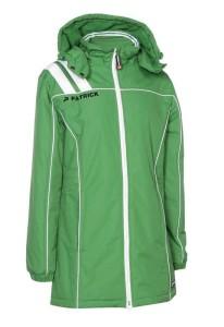 Frauen-Mantel VICTORA 135  grün / weiß (Größe: S)