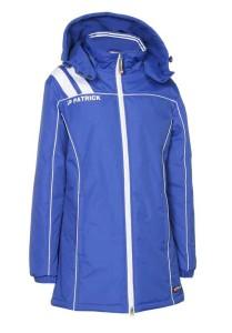 Frauen-Mantel VICTORA 135  royalblau / weiß (Größe: S)