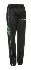 Frauen-Trainingshose VICTORA 205 schwarz / grün (Größe: XS)
