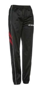 Frauen-Trainingshose VICTORA 205 schwarz / rot (Größe: 3XS)