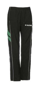 Frauen-Repräsentationshose VICTORA 210 schwarz / grün (Größe: S)