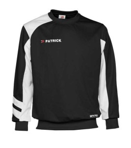 Trainingssweater VICTORY 110 v.PATRICK schwarz/weiß (Größe: 3XL)
