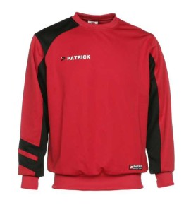 Trainingssweater VICTORY 110 v.PATRICK rot/schwarz (Größe: 2XL)