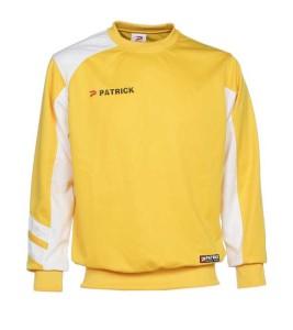 Trainingssweater VICTORY 110 v.PATRICK gelb/weiß (Größe: XL)
