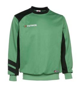 Trainingssweater VICTORY 110 v.PATRICKgrün/schwarz (Größe: XL)