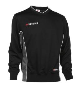 Trainingssweater  Girona 135  v. PATRICK schwarz / grau (Größe: S)