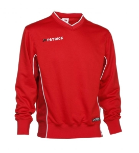 Trainingssweater  Girona 135  v. PATRICK  rot (Größe: XL)