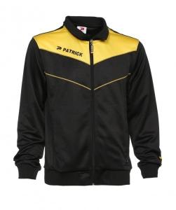 Trainingsjacke Power 110 von PATRICK schwarz / gelb (Größe: 3XS)